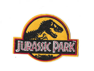 JURASSIC PARK Iron on Patch Embroidered Badge Jurassic World PT317