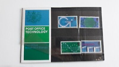 ROYAL MAIL - 1969 Post Office Technology Presentation Pack No 13