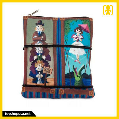 Disney Parks Haunted Mansion Stretching Room Coin Wristlet Purse Bag Pouch