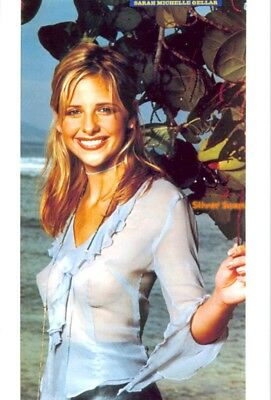 Sarah Michelle Gellar - In Front Of The Beach With A Great Smile !!!!