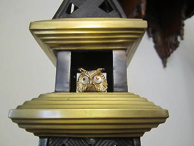 Owl In tower Figurine By BOMBAY Co