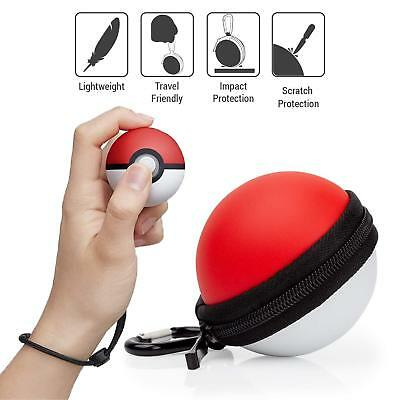 Carrying Case Cover for Nintendo Switch Poke Ball Plus Controller Eevee Game ~AP
