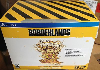 NEW PS4 Borderlands: The Handsome Collection Claptrap-In-A-Box Edition Only 5000
