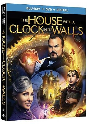The House With A Clock In Its Walls(Blu-Ray+Dvd+Digital)W/slipcover New