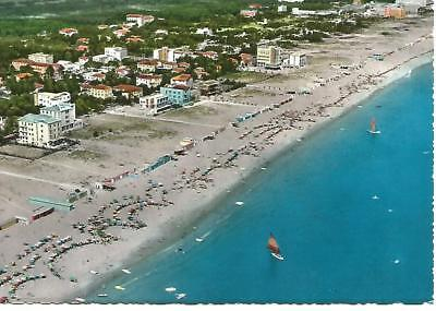 """View from Plane : Milano Marittima Cervia  Italy Colour Postcard 4"""" by 6"""""""