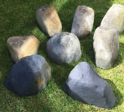 Artificial Landscaping Rock  hollow rock  Fibreglass various effect Boulder Rock