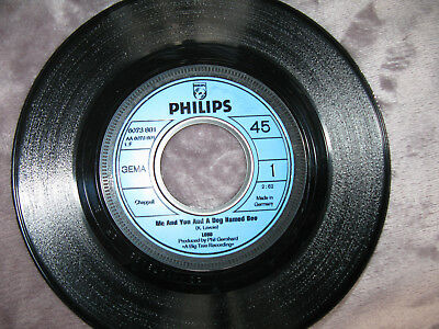 Vinyl Single LOBO - Me and You and the Dog Named Boo -