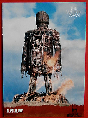 THE WICKER MAN Card # 35 individual card, issued in 2014 by Unstoppable Cards