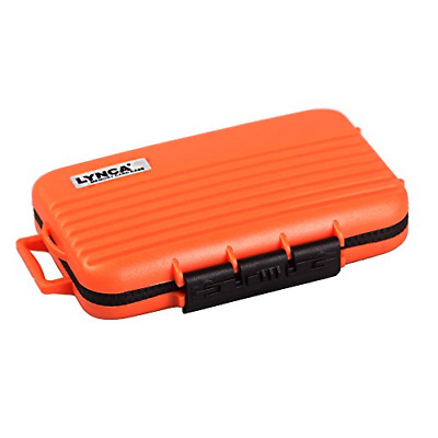 Water-Proof Dust-Proof Anti-Shock Memory Card Storage Case Holder, SDHC SDXC CF