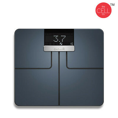 Garmin Index Smart Scale Black With Connected Features Wi-Fi BMI Body Fat & Mass