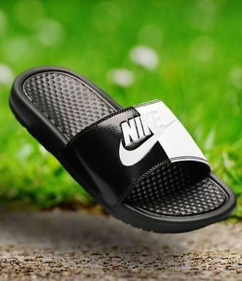 best website 1f591 19fd7 Nike Benassi Jdi Men s Slides (343880 015) Size Uk 12 Eu 47.5