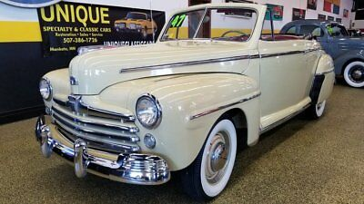 1947 Ford Super Deluxe Convertible 1947 Ford Super Deluxe Convertible, TRADES?