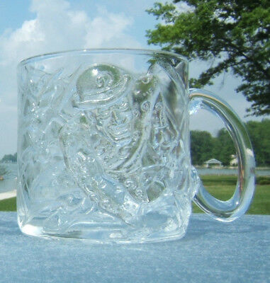 "1995 McDonald's Batman Forever ""The Riddler"" Glass Mug"