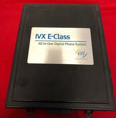 IVX E-Class All in One Digital Phone System ESI