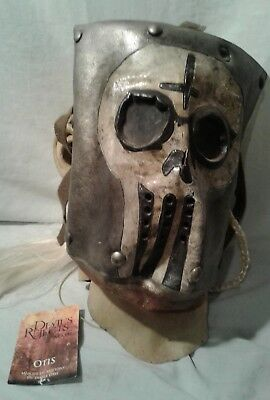 Deluxe Quality Adult Latex Otis The Devil's Reject Mask With White Hair