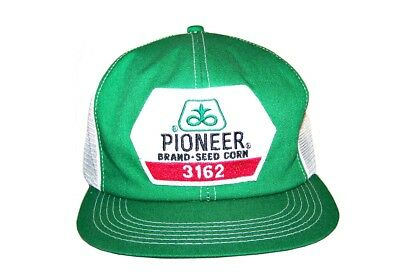 Vintage Pioneer Seed Corn 3162 Snapback Trucker Farmer Hat Cap Patch K Products