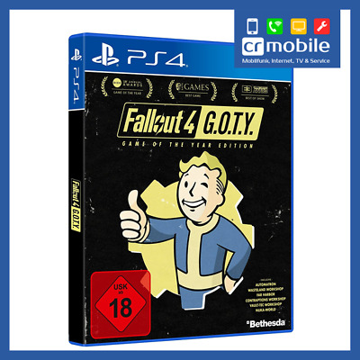 Fallout 4 - Game of the Year Edition Sony PS4 PlayStation 4 2017 G.O.T.Y GOTY