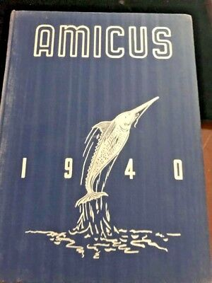 1940 WESTTOWN SCHOOL YEARBOOK Amicus West Chester PA Quaker School History