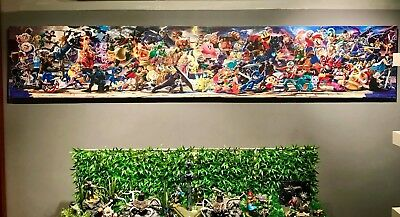 Super Smash Bros Ultimate Canvas Poster