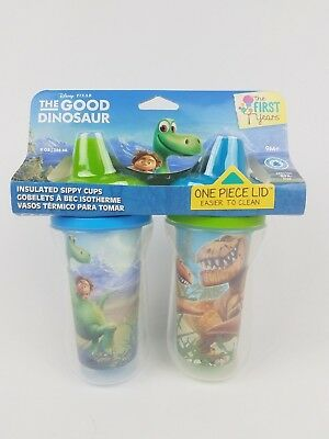 The First Years Disney/Pixar Good Dinosaur Insulated Sippy Cup 9 Oz Baby Cup 2pk