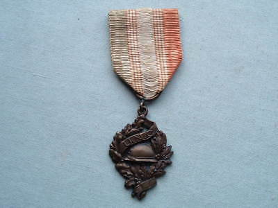 Old Wwi Ww1 1914 1918 French France National Union Older Combatants Valor Medal