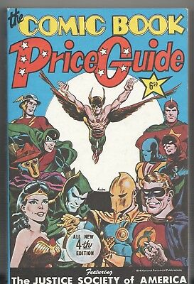 Book - Overstreet: THE COMIC BOOK PRICE GUIDE No.4 - Softcover 1974
