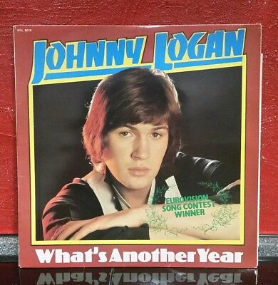 johnny logan, what's another year , vinyl, lp, d