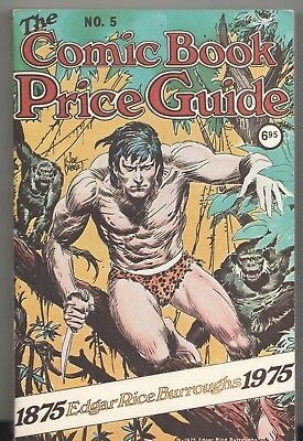 Book - Overstreet: THE COMIC BOOK PRICE GUIDE No.5 - Softcover 1975 $6.95