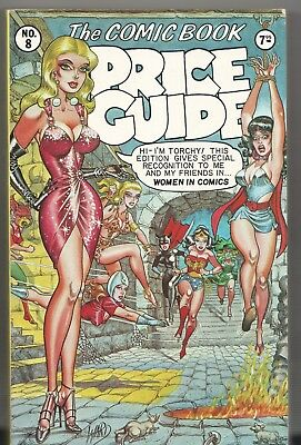 Book - Overstreet: THE COMIC BOOK PRICE GUIDE No.8 - Softcover 1978