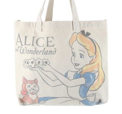 Disney Loungefly Alice in Wonderland Canvas Tote Bag Purse NEW