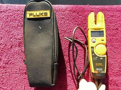 Fluke T5-1000 *excellent!* Voltage, Continuity And Current Tester!