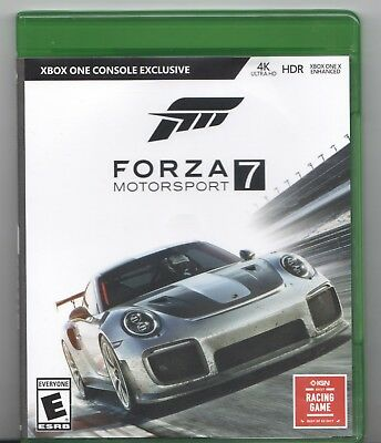 Video Game - Microsoft Xbox One - FORZA MOTORSPORT 7 - Pre-Owned