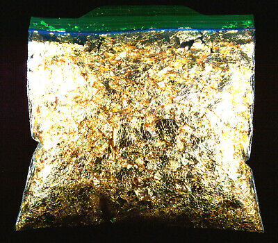 2 Troy Ounce Gold Leaf Flakes 100% Satisfaction Or Money Back Free Shipping