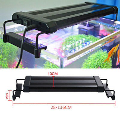 Adjust LED Aquarium Light Full Spectrum Freshwater Fish Tank Plant Marine Lights