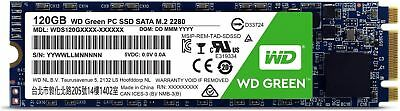 Western Digital SSD 120GB Green M.2 2280 540MB/ s Read Solid State Drive tbs UK