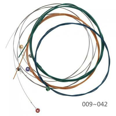 6pcs Multi-color Electric Guitar String with Great Bright Tone & Super Light