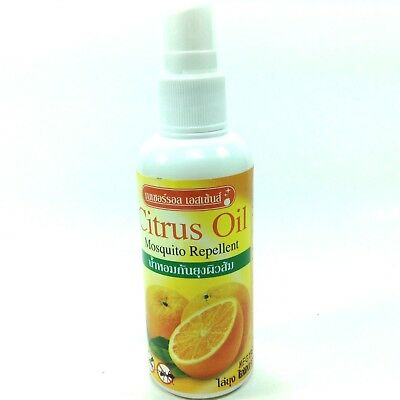 Citrus Oil Mosquito Insects Repellent Herb Non Toxic Safe Keep bugs away natural