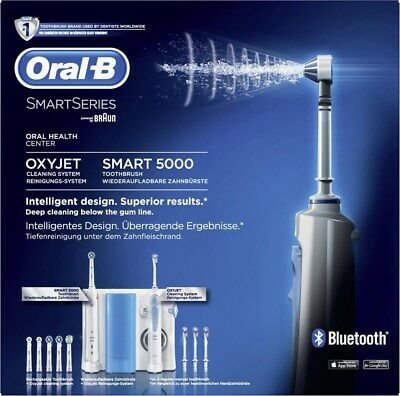 Oral-B Smart 5000 OxyJet Mundpflege-Center mit Bluetooth (Munddusche)