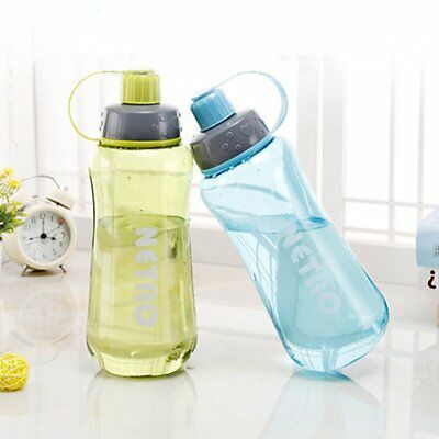 800/1000/1500ML Portable Sports Students Water Bottle Plastic Outdoor Bottle #NS