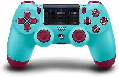 New Official Sony PS4 DualShock Controller Berry Blue (Limited Edition) RARE