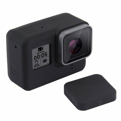 PULUZ Camera Silicone Protective Case with Lens Cover for Gopro Hero 5 Black MO