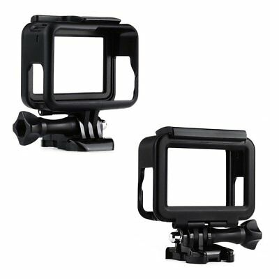 Protective Frame Housing Case Shell Mount with Soft Lens Cap For GoPro Hero 5 LY