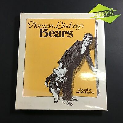 1978 First Edition 'Norman Lindsay's Bears' Keith Wingrove Billy Bluegum