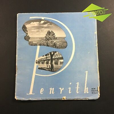c.1930's SOUVINER PHOTO ALBUM OF PENRITH NEW SOUTH WALES PRINTS