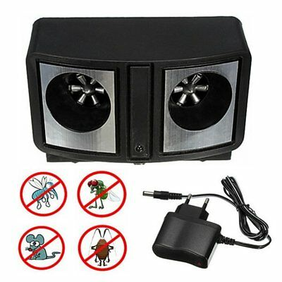 Dual Sonic Ultrasonic Pest Repeller Rats Mice Mosquito Insect Control RepelleR3