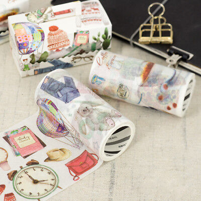 9cm Wide Love Daily Life Washi Tape Decorative Scrapbooking Paper Masking Tape