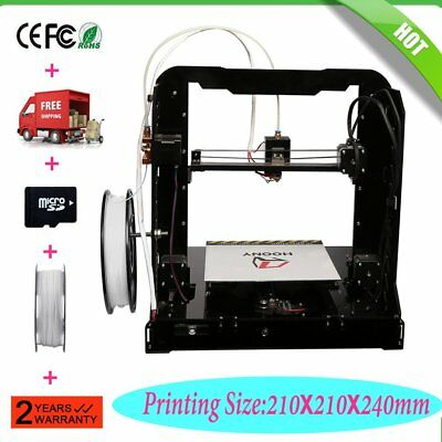 AU Stock Anycubic 3D Printer H8 Upgrade DIY Metal Frame with PLA Filament LCD Q