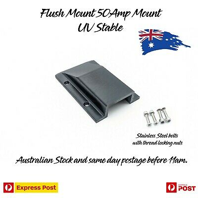 Anderson Plug Flush Mount Panel Kit External SB50 50 Amp Caravan