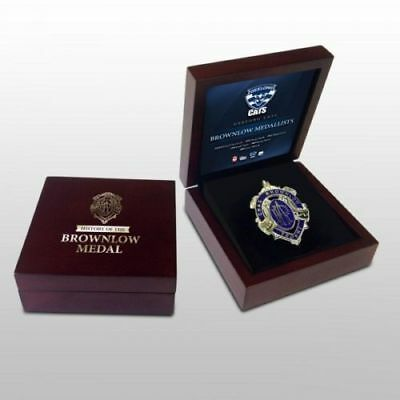 Brownlow Medal In Wooden Display Box Geelong Cats