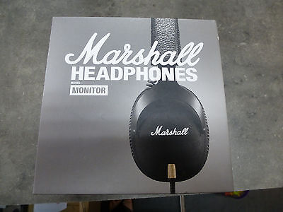 Casque MARSHALL Monitor noir Filaire (Occasion)
